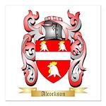 Alcockson Square Car Magnet 3