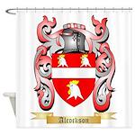 Alcockson Shower Curtain