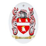 Alcockson Ornament (Oval)