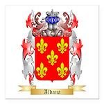 Aldana Square Car Magnet 3