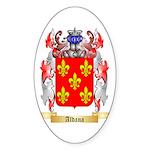 Aldana Sticker (Oval 50 pk)