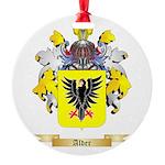 Alder Round Ornament
