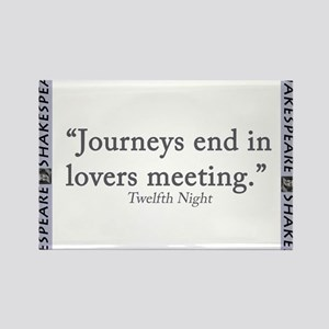 Journeys End In Lovers Meeting Magnets