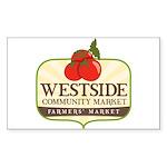 General Farmers Market Sticker (Rectangle 10 pk)