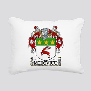 McDevitt Coat of Arms Rectangular Canvas Pillow