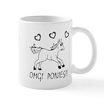 OHMYGODPONIES Mug