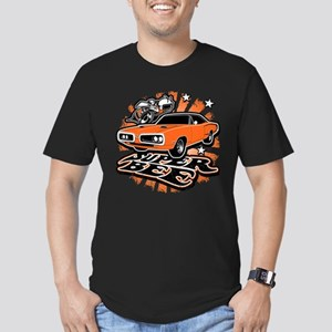 Super Bee Men's Fitted T-Shirt (dark)