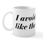 Avoid Cliches Like The Plague Mug