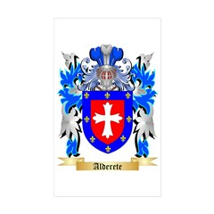 Alderete Sticker (Rectangle 50 pk)