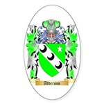 Alderson Sticker (Oval 50 pk)