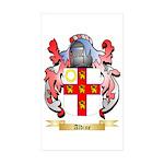 Aldine Sticker (Rectangle 50 pk)