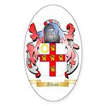 Aldine Sticker (Oval 10 pk)