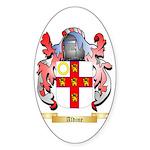 Aldine Sticker (Oval 50 pk)