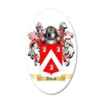 Aldred 35x21 Oval Wall Decal