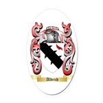 Aldrich Oval Car Magnet