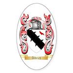 Aldrich Sticker (Oval 50 pk)