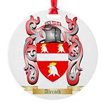 Alecock Round Ornament