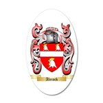 Alecock 20x12 Oval Wall Decal