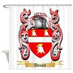 Alecock Shower Curtain