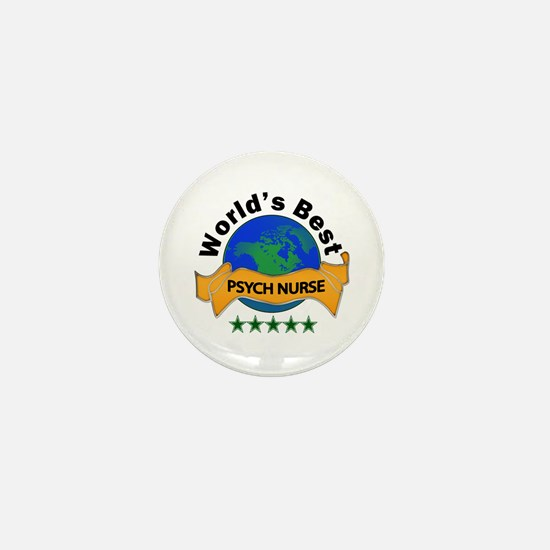 Psych nurse Mini Button