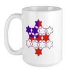 13 Stars of David Large Mug