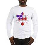 13 Stars of David Long Sleeve T-Shirt
