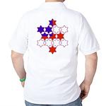 13 Stars of David Golf Shirt