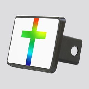 Rainbow cross Rectangular Hitch Cover
