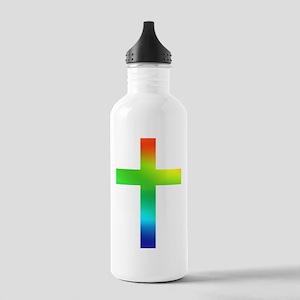 Rainbow cross Stainless Water Bottle 1.0L
