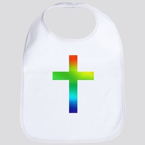 Rainbow cross Bib