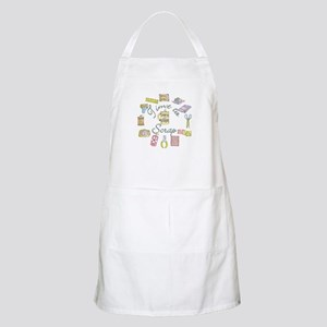 Time to Scrap by Leah BBQ Apron