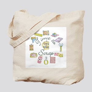 Time to Scrap by Leah Tote Bag