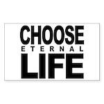 Choose Eternal Life Sticker (Rectangle 10 pk)