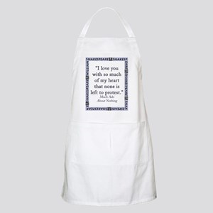 I Love You With So Much Of My Heart Light Apron