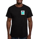 Aleman Men's Fitted T-Shirt (dark)