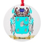 Aleman Round Ornament