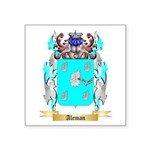 Aleman Square Sticker 3