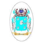Aleman Sticker (Oval)
