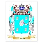 Aleman Small Poster