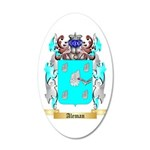 Aleman 35x21 Oval Wall Decal