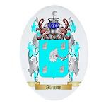 Aleman Ornament (Oval)