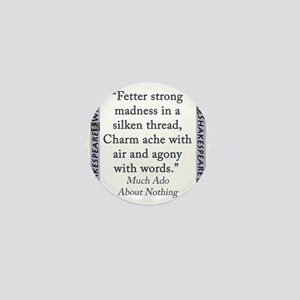 Fetter Strong Madness Mini Button