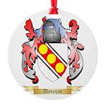 Aleveque Round Ornament