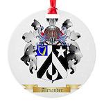 Alexander Round Ornament