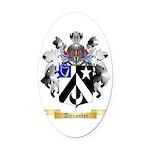 Alexander Oval Car Magnet