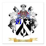 Alexander Square Car Magnet 3