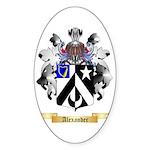 Alexander Sticker (Oval 10 pk)