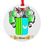 Alfaro Round Ornament