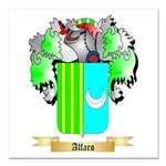 Alfaro Square Car Magnet 3