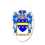 Alfonso 35x21 Oval Wall Decal